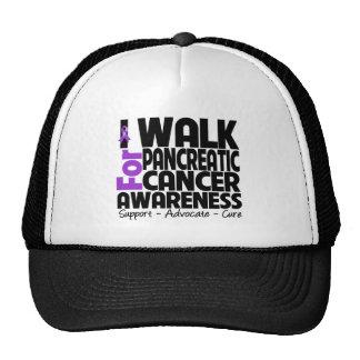 Camino para la conciencia del cáncer pancreático gorra