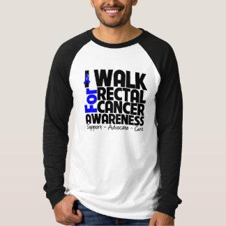 Camino para la conciencia del cáncer rectal poleras