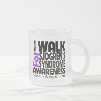 Camino para la conciencia del síndrome de Sjogren Taza De Café