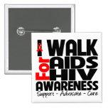 Camino para la conciencia del VIH del SIDA Pins