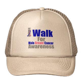 Camino para la conciencia masculina del cáncer de  gorras de camionero