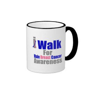 Camino para la conciencia masculina del cáncer de  taza
