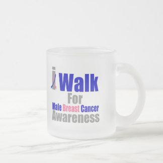 Camino para la conciencia masculina del cáncer de  tazas