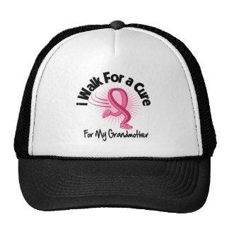 Camino para mi abuela - cáncer de pecho gorro