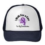 Camino para mi abuela - cinta púrpura gorras