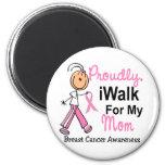 Camino para mi cáncer de pecho de la mamá SFT Iman De Frigorífico