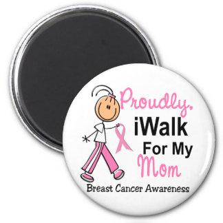 Camino para mi cáncer de pecho de la mamá SFT Imán Redondo 5 Cm