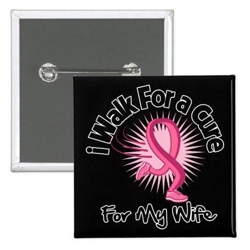 Camino para mi esposa - cáncer de pecho pins