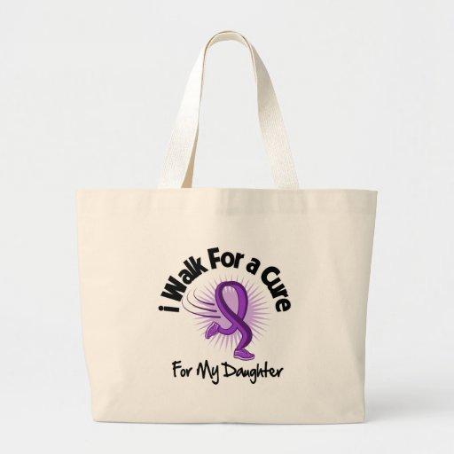 Camino para mi hija - cinta púrpura bolsa