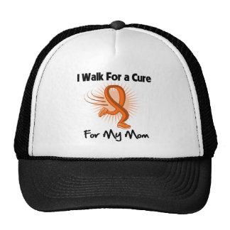 Camino para mi leucemia de la mama gorros bordados