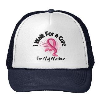 Camino para mi madre - cáncer de pecho gorros bordados