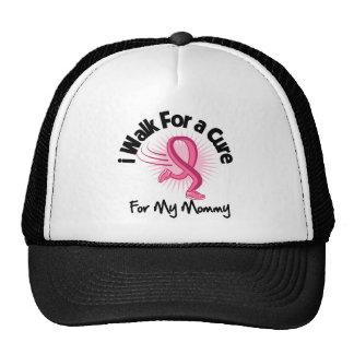 Camino para mi mamá - cáncer de pecho gorros bordados