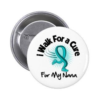 Camino para mi Nana - cinta del trullo Pin Redondo De 2 Pulgadas