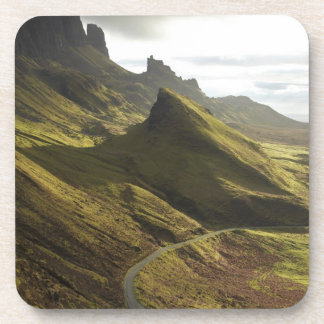Camino que asciende el Quiraing, isla de Skye, Posavasos De Bebida