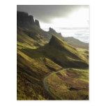 Camino que asciende el Quiraing, isla de Skye, Tarjetas Postales