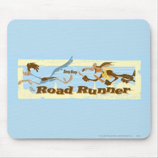 CAMINO RUNNER™ perseguidor por el Wile E. Coyote Alfombrilla De Ratones