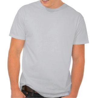 Camino tan en una barra. chiste clásico camiseta