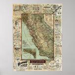"""""""Caminos de California para los ciclistas"""" (1896)  Impresiones"""