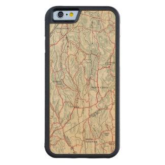 Caminos de la bicicleta en Nueva York y Funda De iPhone 6 Bumper Arce