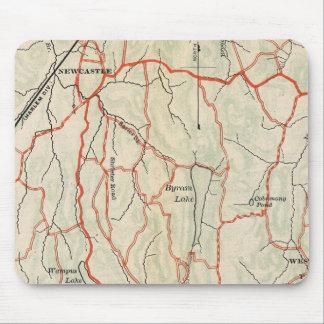 Caminos de la bicicleta en Nueva York y Connecticu Alfombrilla De Raton
