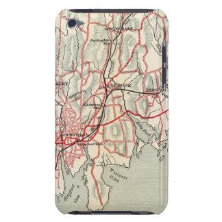 Caminos de la bicicleta en Nueva York y Connecticu iPod Case-Mate Cárcasa