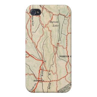 Caminos de la bicicleta en Nueva York y Connecticu iPhone 4/4S Carcasas