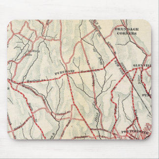 Caminos de la bicicleta en Nueva York y Connecticu Tapetes De Raton