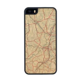 Caminos de la bicicleta en Nueva York y Funda De Arce Carved® Para iPhone 5 Slim