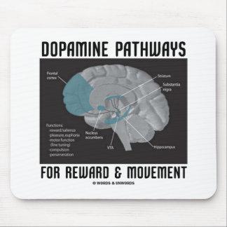 Caminos de la dopamina para la recompensa y el mov tapetes de raton