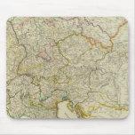 Caminos de poste Alemania, Hungría Alfombrillas De Ratones
