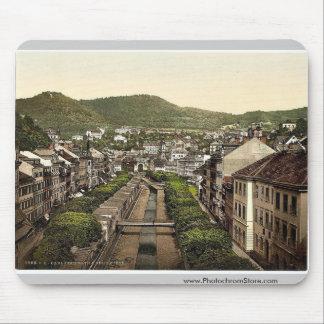 Caminos viejos y nuevos, Carlsbad, Bohemia, Austro Alfombrilla De Ratón