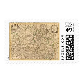 Caminos y campos de batalla romanos sellos postales