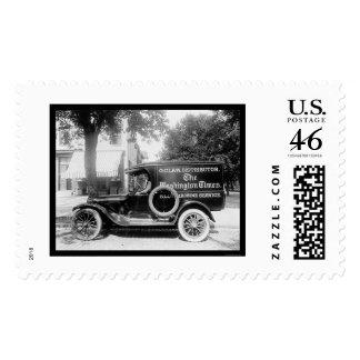 Camión 1920 del periódico de Washington Times