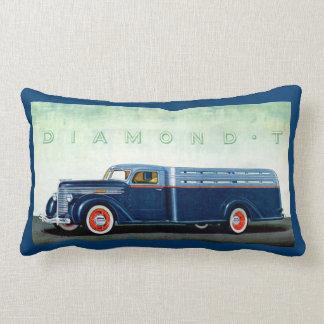Camión 1937 del azul del diamante T Cojín