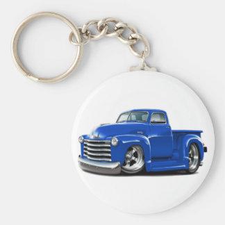 Camión 1950-52 del azul de Chevy Llavero