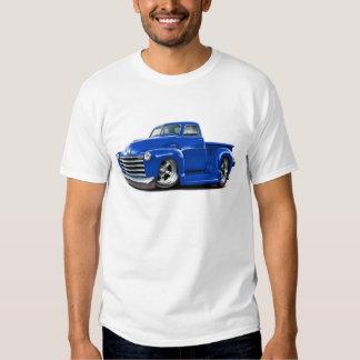 Camión 1950-52 del azul de Chevy Polera