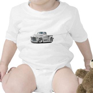 Camión 1950-52 del blanco de Chevy Trajes De Bebé