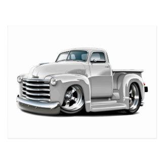 Camión 1950-52 del blanco de Chevy Postales