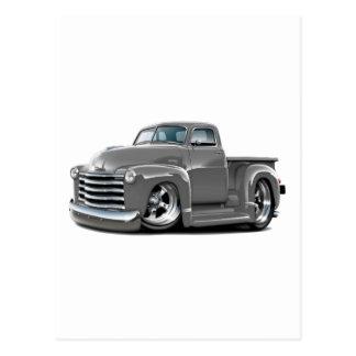 Camión 1950-52 del gris de Chevy Tarjetas Postales