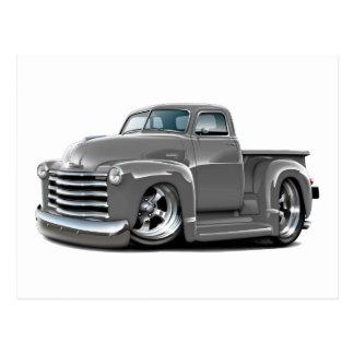 Camión 1950-52 del gris de Chevy Postal