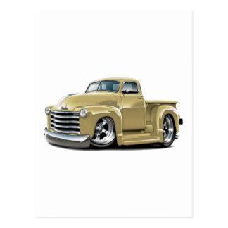 Camión 1950-52 del moreno de Chevy Postales