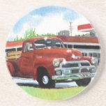 Camión 1954 de Chevy de la antigüedad Posavaso Para Bebida