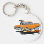 Camión 1966 del naranja del EL Camino Llavero Personalizado