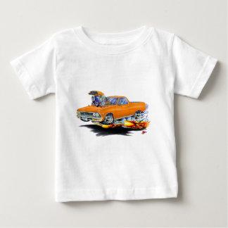 Camión 1966 del naranja del EL Camino Playera De Bebé