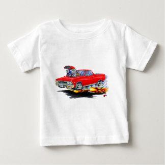 Camión 1966 del rojo del EL Camino Playera De Bebé