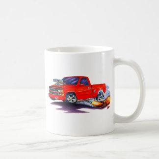 Camión 1988-98 del rojo de Silverado Taza
