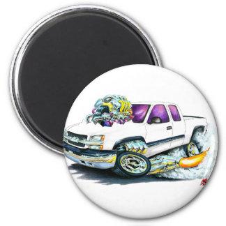 Camión 2003-06 del blanco de Silverado Imanes