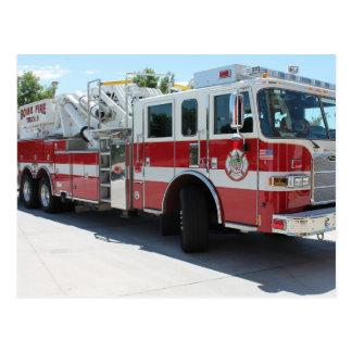 Camión 6 del cuerpo de bomberos de Boise Postales