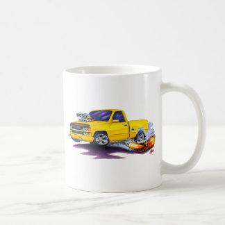 Camión amarillo 1988-98 de Silverado Taza