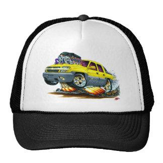 Camión amarillo de la avalancha gorras